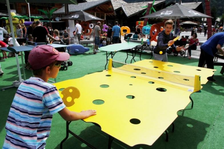 Location table pingpong drôle crazy pong Lyon Villefranche Beaujolais